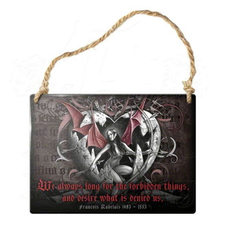 Schild ALCHEMY GOTHIC - Forbidden Things, ALCHEMY GOTHIC