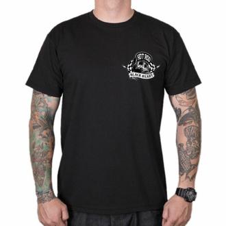 Herren-T-Shirt BLACK HEART - HOTRODER SKULL, BLACK HEART