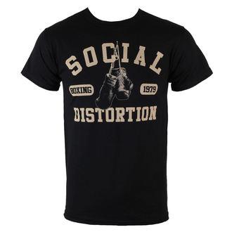 Herren T-Shirt  Social Distortion - Boxing Gloves - BRAVADO, BRAVADO, Social Distortion