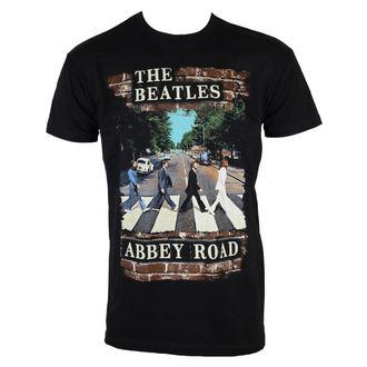 Herren T-Shirt  Beatles - Abby Brick Photo - BRAVADO, BRAVADO, Beatles