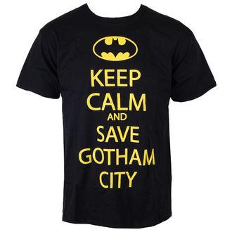 Herren T-Shirt Batman - Save Our Gotham City - Black - INDIEGO, INDIEGO, Batman