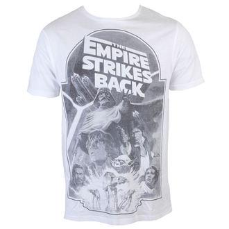Herren T-Shirt Star Wars - Empire Strikes Back Sublimation - White - INDIEGO, INDIEGO, Star Wars