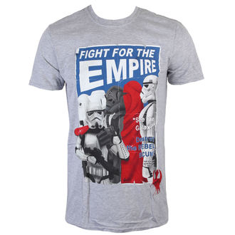 Herren T-Shirt Star Wars - Fight For The Empire - Charcoal - INDIEGO, INDIEGO, Star Wars
