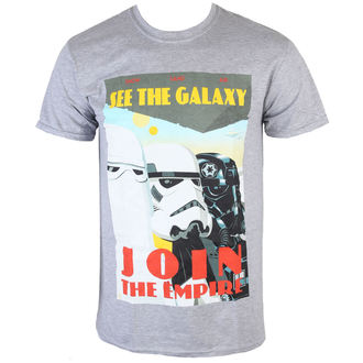 Herren T-Shirt Star Wars - Join The Empire - Charcoal - INDIEGO, INDIEGO, Star Wars