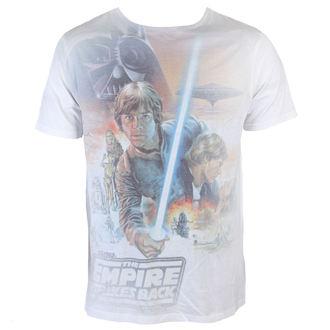 Herren T-Shirt Star Wars - Luke Skywalker Sublimation - White - INDIEGO, INDIEGO, Star Wars