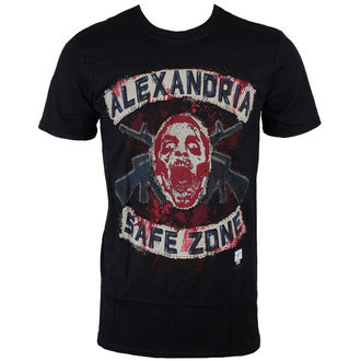 Herren T-Shirt The Walking Dead - Safe Zone - Black - INDIEGO, INDIEGO, The Walking Dead