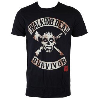 Herren T-Shirt The Walking Dead - Survivor - Black - INDIEGO, INDIEGO, The Walking Dead