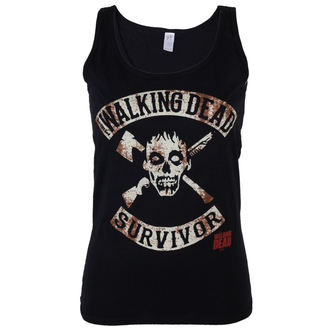 Tank Top/Shirt Damen The Walking Dead - Survivor - Black - INDIEGO, INDIEGO, The Walking Dead