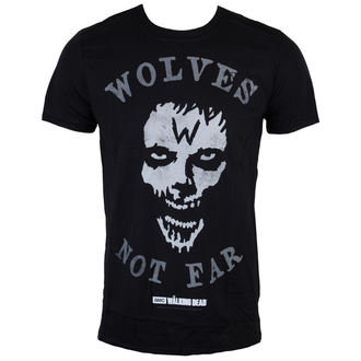 Herren T-Shirt The Walking Dead - Wolves Not Far - Grey - INDIEGO, INDIEGO, The Walking Dead