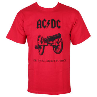 Männer Shirt AC/DC - For Thise über to rock - RED - LOW FREQUENCY, LOW FREQUENCY, AC-DC