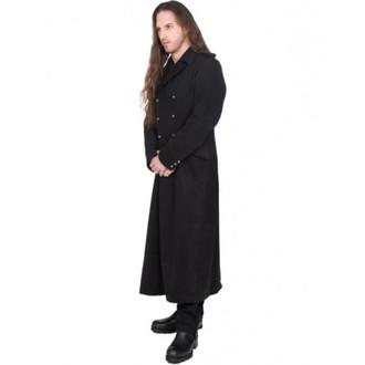 Männer Mantel BLACK PISTOL - Army Coat Wool - BLACK, BLACK PISTOL
