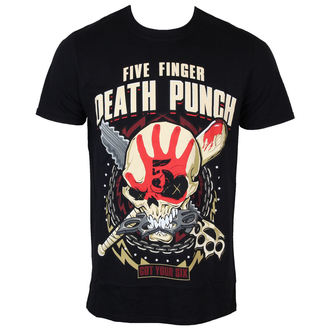 Männer Shirt Five Finger Death Punch - Zombie Kill - ROCK OFF, ROCK OFF, Five Finger Death Punch