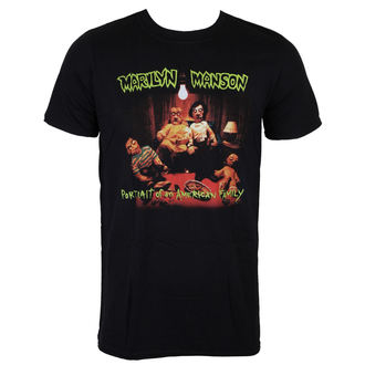 T-Shirt Marilyn Manson - American Family - ROCK OFF, ROCK OFF, Marilyn Manson