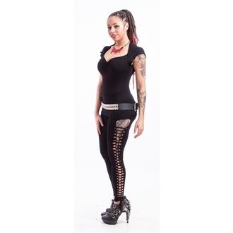 Hose Damen (Leggings) NECESSARY EVIL - Terra Slashed - Black, NECESSARY EVIL