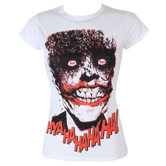 Damen T-Shirt Batman - The Joker-HyaHaHaHa - White - HYBRIS, HYBRIS, Batman