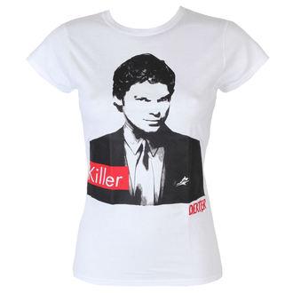 Damen T-Shirt Dexter - Killer - White - HYBRIS, HYBRIS, Dexter