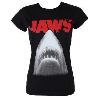 Damen T-Shirt Jaws - Poster - Black - HYBRIS, HYBRIS, Der weiße Hai