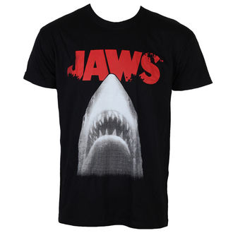 Herren T-Shirt Jaws - Poster - Black - HYBRIS, HYBRIS, Der weiße Hai