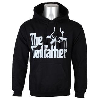 Männer Hoodie Godfather - Logo - Black - HYBRIS, HYBRIS, Der Pate