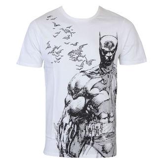 Herren T-Shirt Batman - Bat Fly - White - LEGEND, LEGEND, Batman