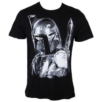 Herren T-Shirt Star Wars - Boba Fett Silver Millar - Black - LEGEND, LEGEND, Star Wars