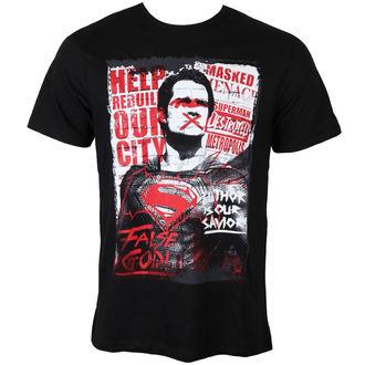 Herren T-Shirt Batman Vs Superman - Superman Anti-Hero - Black - LEGEND, LEGEND, Batman