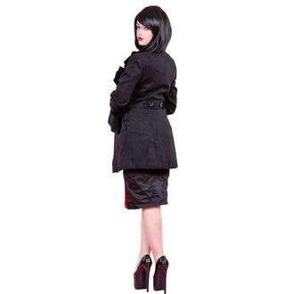 Mantel Damen für Frühling/Herbst HEARTS AND ROSES - Ruffled Sleeve Wool Sleeve Wool, HEARTS AND ROSES