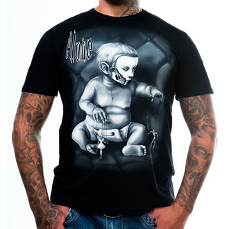Herren T-Shirt ART BY EVIL - Alone - Black, ART BY EVIL