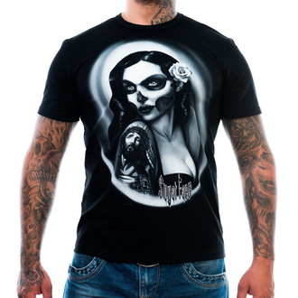 Herren T-Shirt ART BY EVIL - Sugar Face - Black, ART BY EVIL