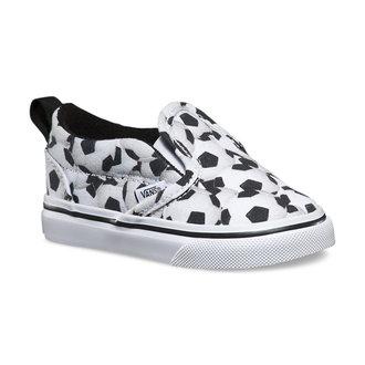 Schuhe Kinder VANS - Slip-On (SportS) - Soccer - Black/White, VANS