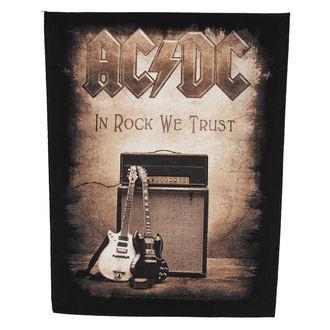 Aufnäher  groß AC/DC - In Rock We Trust - RAZAMATAZ, RAZAMATAZ, AC-DC
