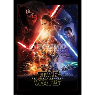 Poster Star Wars - Episode VII - One Sheet - PYRAMID POSTERS, PYRAMID POSTERS