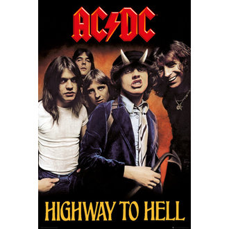 Poster AC/DC - Higway To Hell - GB posters - LP2038