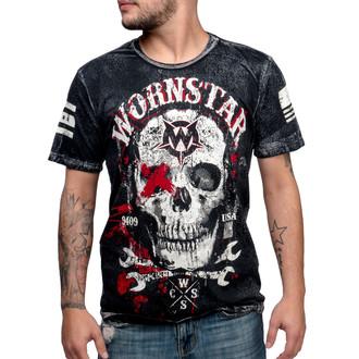 Herren T-Shirt WORNSTAR - Death Mechanic - Grey - WSUS-DMEC