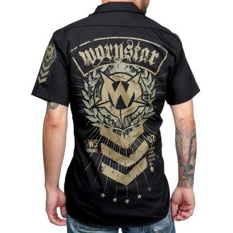 Männer Hemd WORNSTAR - SGT - Black, WORNSTAR