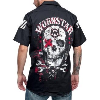 Männer Hemd WORNSTAR - Death Mechanic - Black, WORNSTAR