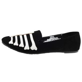 Ballerinas  IRON FIST - Wishbone Loafer Flat - Black, IRON FIST