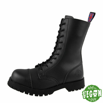 Schuhe NEVERMIND - 10 Loch - Vegan - Black Synthetic, NEVERMIND