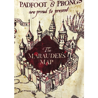 Harry Potter Handtuch - Marauder's Map, NNM