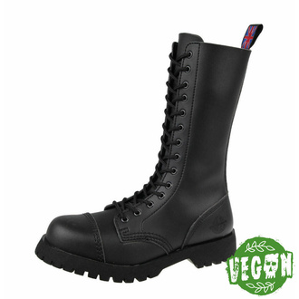 Schuhe NEVERMIND - 14 Loch - Vegan - Black Synthetic, NEVERMIND