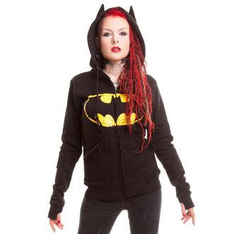 Damen Hoodie BATMAN - BM Revenge - Batman - Black, POIZEN INDUSTRIES, Batman