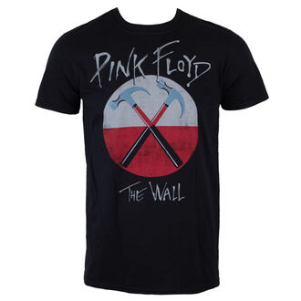 T-Shirt Männer  Pink Floyd - The Wall Logo - Black - LIVE NATION, LIVE NATION, Pink Floyd