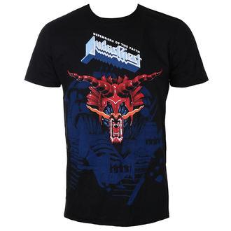Herren T-Shirt Metal Judas Priest - Defenders Blue - ROCK OFF, ROCK OFF, Judas Priest