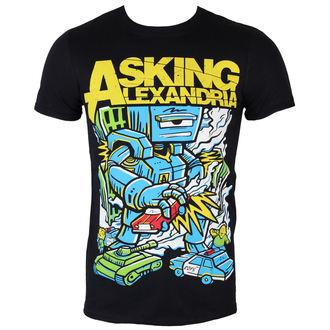 T-Shirt Männer  Asking Alexandria - Killer Robot - BLK - ROCK OFF, ROCK OFF, Asking Alexandria