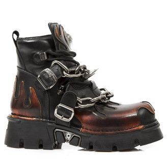 Punk Boots NEW ROCK - Itali Negro - Pilik Fuego - Reaktor Negro, NEW ROCK