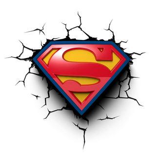 Dekoration Superman - DC Comics 3D LED Light, NNM, Superman