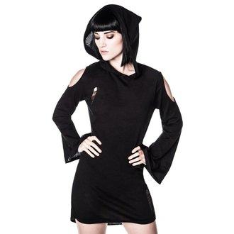 Kleid Ladies KILLSTAR - Dee Ersatz Distress Dress - Black - KIL294