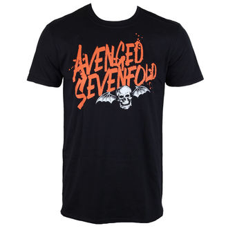 Herren T-Shirt  Avenged Sevenfold - LOGO - ROCK OFF, ROCK OFF, Avenged Sevenfold