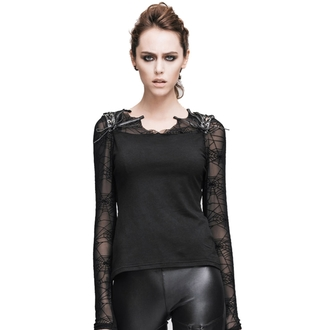 Damen Gothic Bluse DEVIL FASHION - Gothic Dusk, DEVIL FASHION