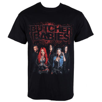 Herren T-Shirt  METZGER BABYS - BAND SHOT - RAZAMATAZ, RAZAMATAZ, Butcher Babies